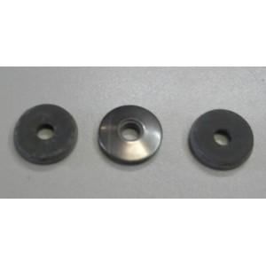 RVS ring met neopreen rubber